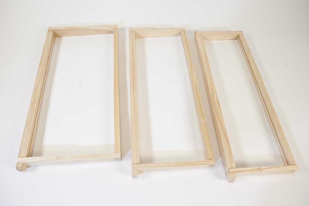 """Unassembled Wooden Frame 9 1/8"""" Image"""